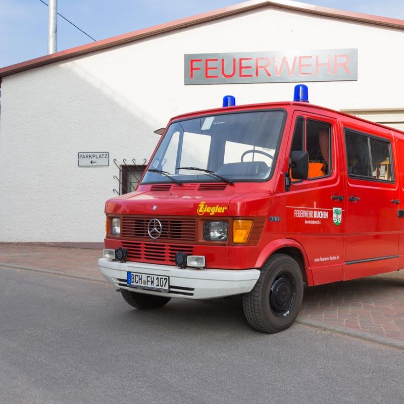 Tragkraftspritzenfahrzeug (TSF)