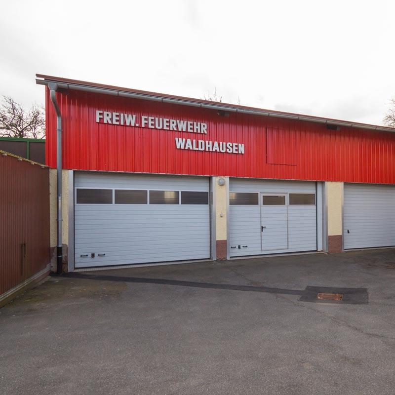Gerätehaus Waldhausen